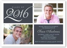 Classic Grad 5x7 Stationery Card by Yours Truly