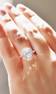 Catch the light with this gorgeous diamond ring