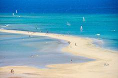 Sotavento Playas de Jandia Menorca, Canario, Canary Islands, Honeymoon Destinations, Beach Pictures, Tenerife, Wonderful Places, Travel Inspiration, Places To Visit