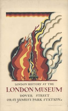 Reprint of a Vintage 1922 Travel Poster - London History Museum London History Museum, London Museums, Transport Museum, London Transport, Public Transport, London Travel, Museum Poster, Railway Posters, Posters Uk