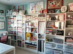 The prompt for day 3 of is to share our sewing spaces! I tried hard not to tidy up for these shots - all I did was kick a dog bone and…