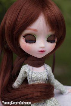 OOAK Green Tea Truffle Full Custom Pullip by YummySweetsDolls