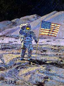 Jim Irwin - Indomitable Astronaut - Alan Bean - World-Wide-Art.com