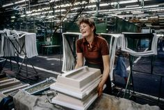 Predom-Polar refrigerator factory, Wroclaw, 1982 - Chris Niedenthal