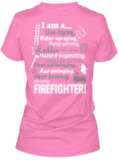 Female Firefighter Shirt