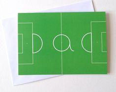 Football Dad Card Happy Birthday Dad Card by helloDODOshop on Etsy, £2.50