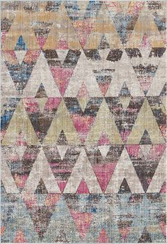 Multi Downtown Collection by Jill Zarin Area Rug New Catalogue, Printed Sarees, 7 And 7, Ds, Wool Rug, Area Rugs, Sofa, Concept, Asian