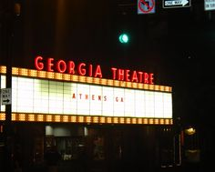 Get your groove on at the Georgia Theatre, a remodeled movie theater that hosts some of the best headliner bands in the south. #Athens