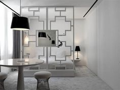 Black and White Interior of The Club Hotel by Ministry of Design  Black & White Inspiration: 35 Contemporary Decors Opening Up A World of Ideas