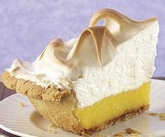 Lemon Meringue Pie- Fine Cooking, didn't use their meringue recipe. Pie was really delish and will make again. Pie Recipes, Dessert Recipes, Lemon Desserts, Pudding Desserts, Lemon Recipes, Sauce Recipes, Recipies, Lemon Meringue Pie, Sweet Tooth