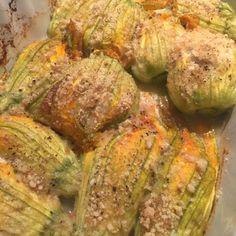 Ricetta Fiori di zucca al forno - La Ricetta di GialloZafferano