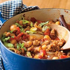 Turkey Chili w/ Fire Roasted Tomatoes: Served something like this over some bowtie pasta last night and it was super yum!