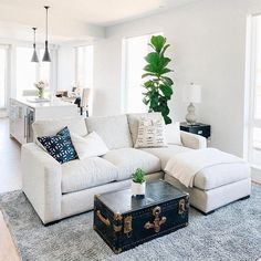 #LivingRoomShelfDecor Coastal Living Rooms, Living Room Modern, Home Living Room, Tiny Living, Small Living Room Designs, Simple Living, Room And Board Living Room, Decorating Small Living Room, Apartments Decorating