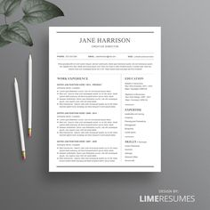 simple resume template and cover letter word resume template cv template simple word resume template classic resume template design - Classic Resume Template Word