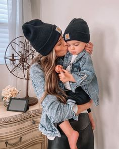 Mom And Baby Outfits, Trendy Boy Outfits, Toddler Boy Outfits, Family Outfits, Kids Outfits, Mommy Baby Matching Outfits, Spring Outfits, Winter Outfits, Casual Outfits