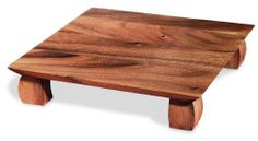 Ironwood Gourmet Sushi Plate by Ironwood Gourmet. $19.57. 0 by 10 by 2 inches. Made from Acacia Wood. High profile design with curved feet. Wash with warm soapy water, rinse thoroughly. Do not soak.. This sushi plate with its high profile design with curved feet makes for an impressive place setting.