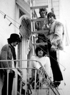 Pink Floyd in California, November 1967