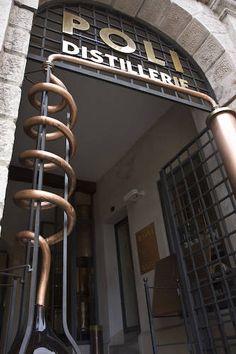 Poli Grappa Museum in Bassano del Grappa