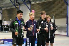 Collin Jager, trainend bij de TTSD, haalt een 2e plaats bij de Nederlandse Jeugdkampioenschappen 2014. Elwin Huiden wordt gedeeld 3e.