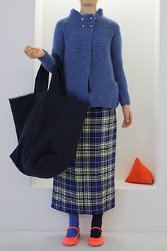 3: bo1b.l13.33 borsa spi fondo quadro corta Only Cardigan, Types Of Dresses, Colourful Outfits, Daily Fashion, Chic Outfits, Knitwear, What To Wear, Winter Fashion, Textiles