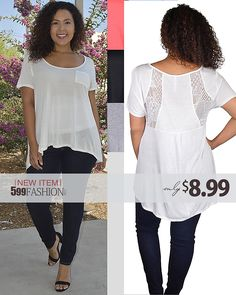 EVERYTHING UNDER $10 - 599fashion.com New Plus Jeggings, Activewear, Skirts & Tops!!! Free Shipping over $50 + Free Returns https://www.599fashion.com/NEW-ARRIVALS_c_28.html