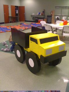 how to make a dump truck out of cardboard | Feather Fancy