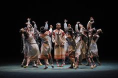 """The Rite of Spring"" choreographed by Nijinsky"