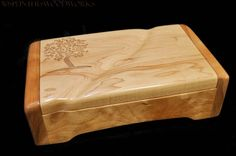 Wooden Box for Jewelry by 50SplintersWoodworks on Etsy, $74.99