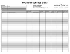 Computer inventory templates
