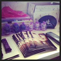 64544791544 Home biz life getting lots of Younique party prizes ready and catalogues  are ready to go!