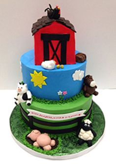 Our cake artists make beautiful, delectable cakes, also available as vegan, organic, and gluten-free