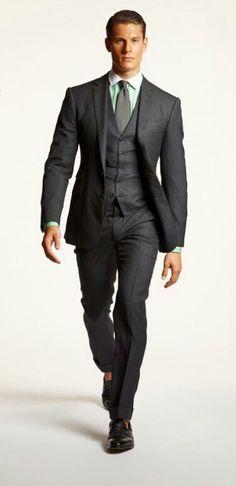 Charcoal Suit ☆