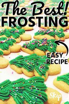 Tiramisu Cookies recipe - easy to make cookie recipe based on the popular Italia. - Tiramisu Cookies recipe – easy to make cookie recipe based on the popular Italian dessert. Easy To Make Cookies, Easy Cookie Recipes, Dessert Recipes, Delicious Desserts, Cake Recipes, Cookie Frosting Recipe, Frosting Recipes, Icing Recipe, Buttercream Frosting