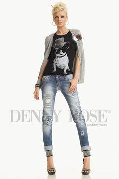 camiseta perro - Denny Rose