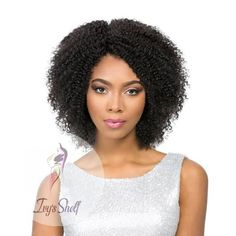 Short Kinky Curly Non-Lace Remy Human Hair Wig Price: 49.48 & FREE Shipping #hashtag1 Remy Human Hair, Remy Hair, Human Hair Extensions, Human Hair Wigs, Flat Twist, Sisterlocks, Twist Outs, Scene Hair, Protective Styles