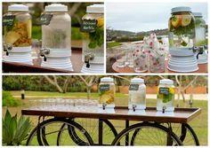 Aguas saborizadas para casamento - Foto KN Photos
