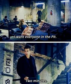 *runs as fast as they can to the pit* ~Divergent~ ~Insurgent~ ~Allegiant~