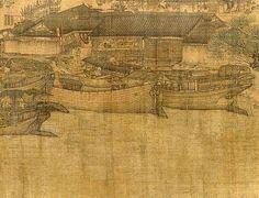 宋-张择端-清明上河图6   Painted by the Song Dynasty artist Zhang Zedu…   Flickr