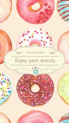HAPPY DONUT DAY! + FREE IPHONE WALLPAPER