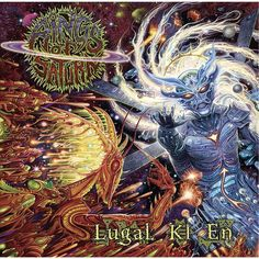 Rings of Saturn Lugal Ki En album cover Heavy Metal Art, Black Metal, Rock N Roll, Rings Of Saturn, Metal Albums, Death Metal, Metal Bands, Artwork Design, Rock Music