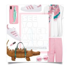 """""""See You Later Alligator!"""" by leslee-dawn ❤ liked on Polyvore featuring Gucci, Kate Spade, ZeroUV and adidas Originals"""