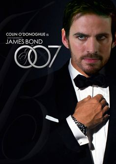 Colin O'Donoghue as James Bond? Yes please.   Maybe wishes can make it so.