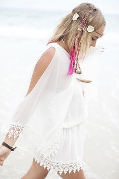 Hippie Style ♥ love this dress