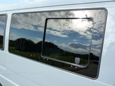See related links to what you are looking for. Window Privacy, Sliding Windows, Campervan