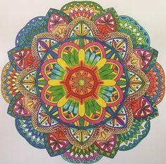 Colorit Mandalas Colorist: Dawn Biggs #adultcoloring #coloringforadults #mandalas