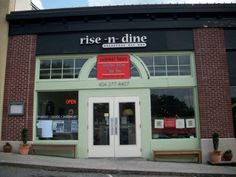 Rise-n-Dine in the Emory Village, Atlanta -- AWESOME brunch and breakfast served all day long.  #restaurants