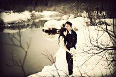 Winter wedding photo from Anastasia Photography