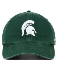 the latest ac4a7 c02d0  47 Brand Michigan State Spartans Clean Up Cap - Green Adjustable.
