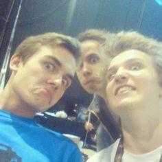 Smusa, Hoggy a Martin.