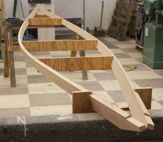 Wood Canoe, Canoe Boat, Canoe And Kayak, Sailing Kayak, Kayaks, Kayak Parts, Build Your Own Boat, Diy Boat, Wood Boats